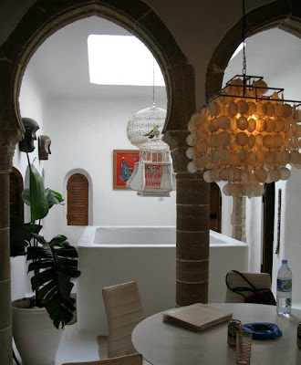 Moorish Arch in Dining Room