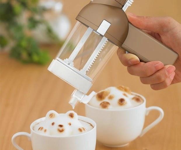 I love kawaii 3d latte art maker awa taccino by takara tomy for 3d art maker online