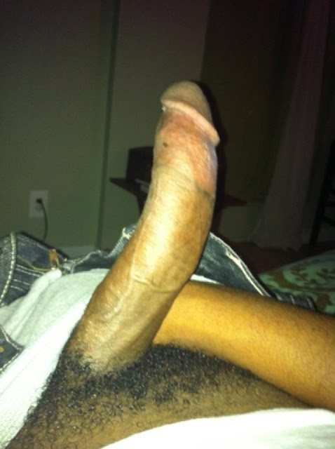 Cocks Show Curved Huge Black