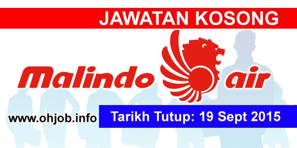 Jawatan Kerja Kosong Malindo Airways logo www.ohjob.info september 2015
