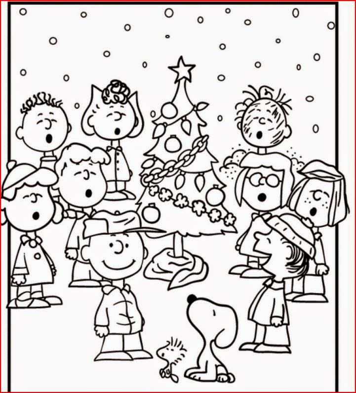 Coloring Pages Snoopy Coloring