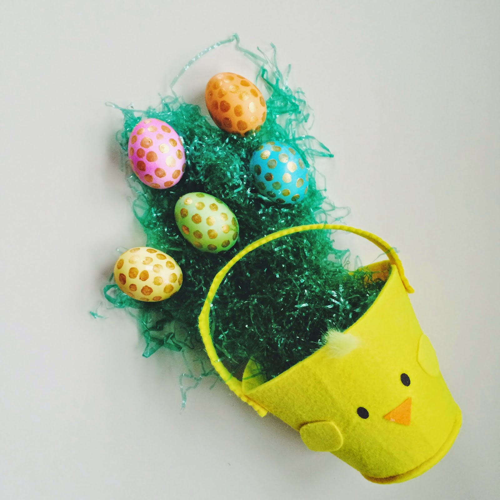DIY, Polka Dot, Easter, Eggs, Easter