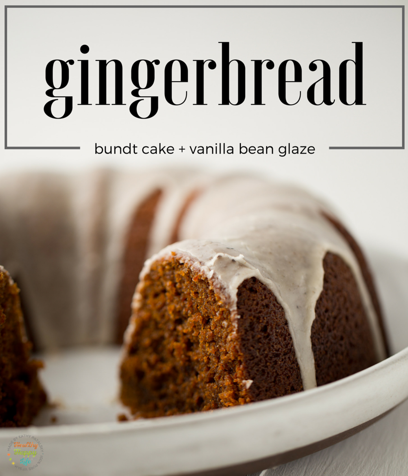 gingerbread bundt cake, vegan