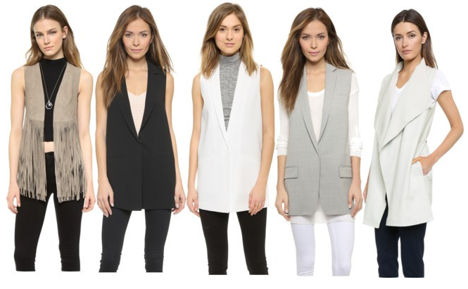 five best womens vests