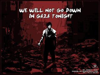 Download Lirik dan Kunci Gitar Lagu – We will not go down ( GAZA )