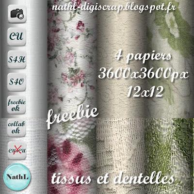 4 fabrics and lace CU papers NathL-papier-tissus-dentelle-CU-pvw