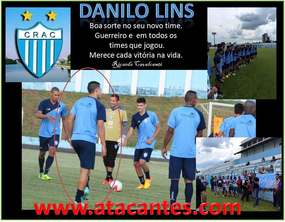 Danilo Lins no CRAC