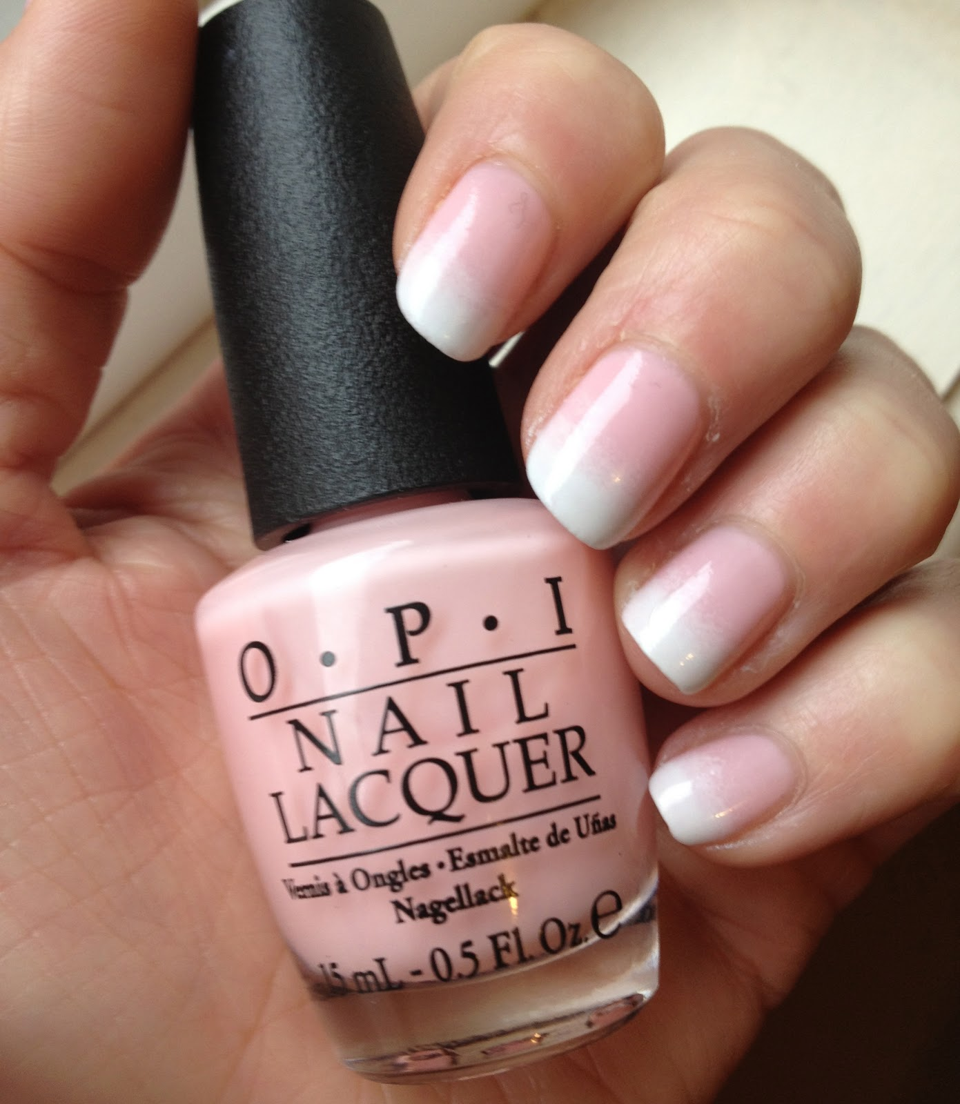 Nails by KayBel: NOTD - French Gradient