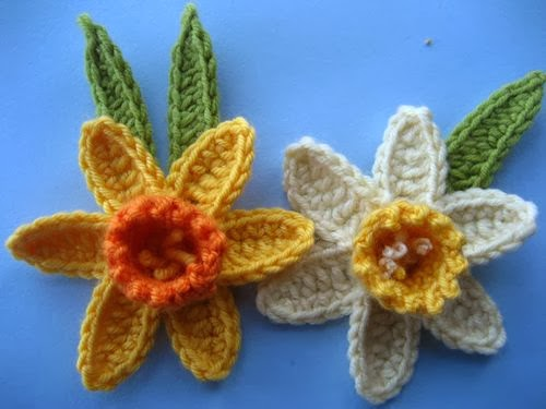Michelle Made This Knit A Daffodil For Irish Cancer Society