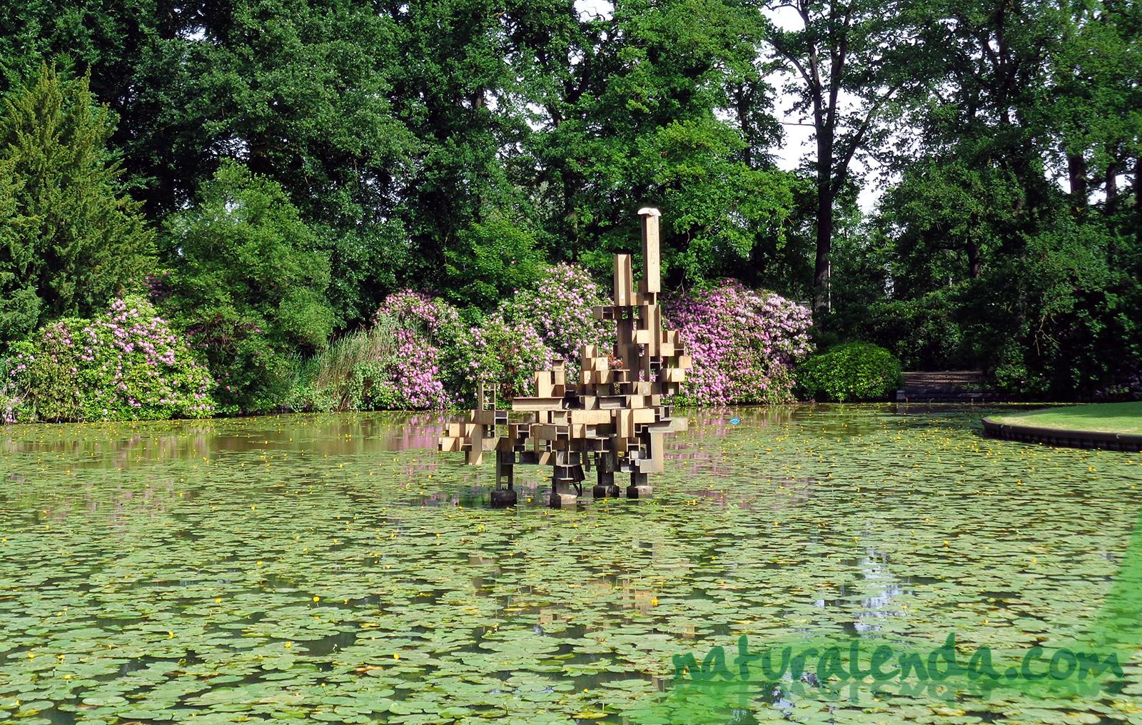 el lago del volkspark