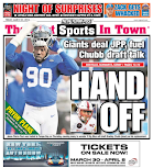 Giants finger another page