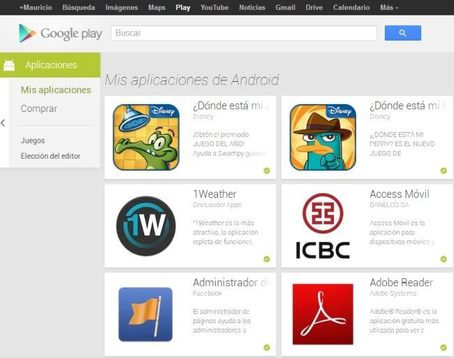descargar apk de google play store para android 2.1
