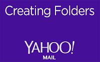 como crear una carpeta en yahoo mail