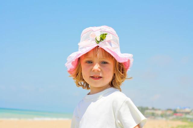 plażowanie z dzieckiem