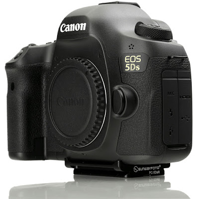 Sunwayfoto PC-5DsR plate on Canon EOS 5Ds