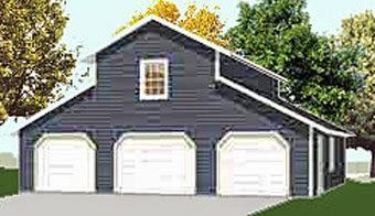 Monitor style garage plans garage plans blog behm for Monitor garage plans
