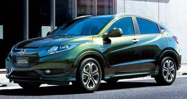 Honda Vezel HR-V Release 2015