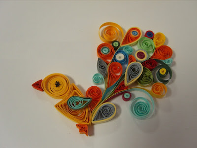 Paper Quilling Birds Design Ideas Arts Crafts Ideas Movement