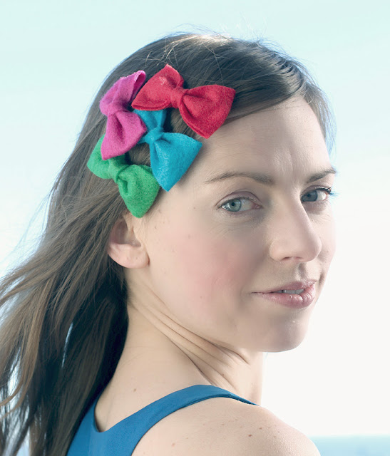 hair bows (colorful!) - catherine masi