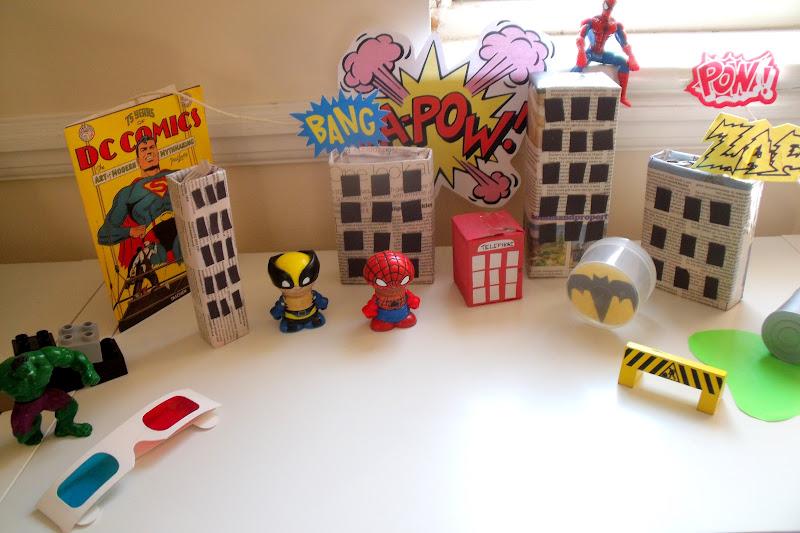 make, do & friend: Superhero City Small World