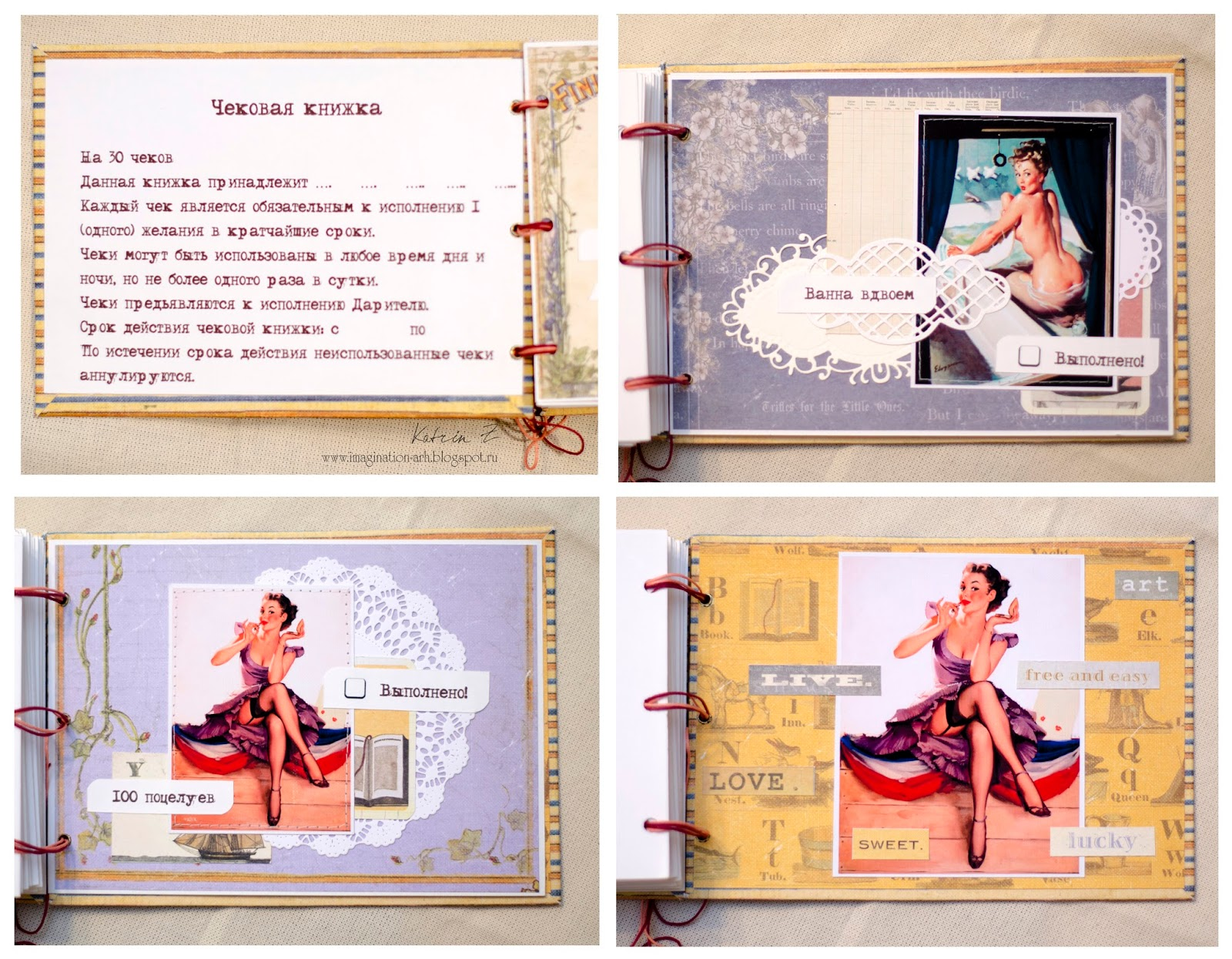 Куклы для исполнения желаний - куклы обереги, славянские 32