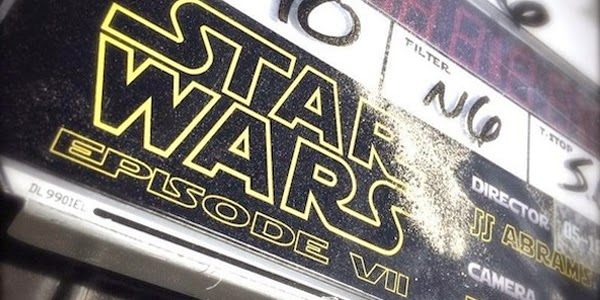 Claqueta Star Wars Ep. VII