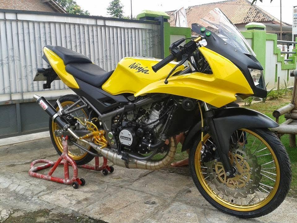kumpulan modifikasi motor ninja rr 2015