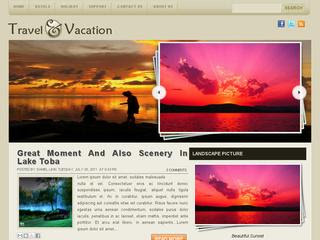 Travel and Vacation Blogger Templates