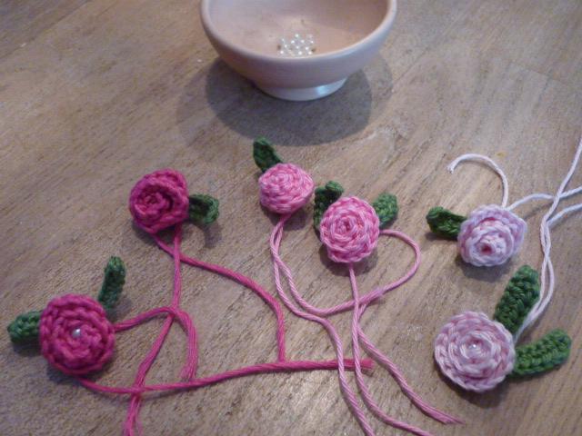 Ingrids Creaties Eenvoudige Roosjes Aan Het Haken Voor