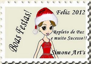Selinho de Natal da minha amiga Simone