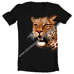 desain-kaos-gambar-animal-macan-harimau