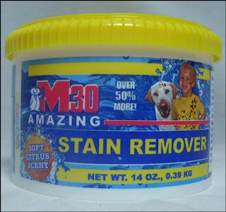 M30 Stain Remover - NEW 14 Oz. Tub
