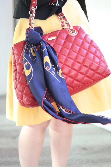 Kate Spade Bag and Pucci Scarf