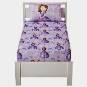 Disney Sofia The First Micro Mink 2 Piece Warm Sheet Set