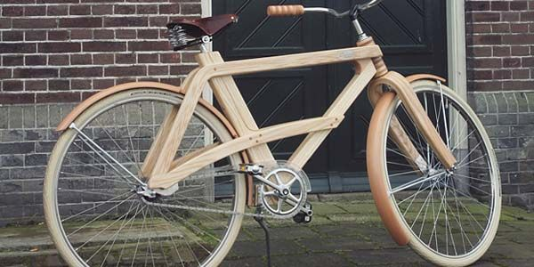 Pernah Lia Sepeda Retro Dari Kayu ?? [ www.BlogApaAja.com ]