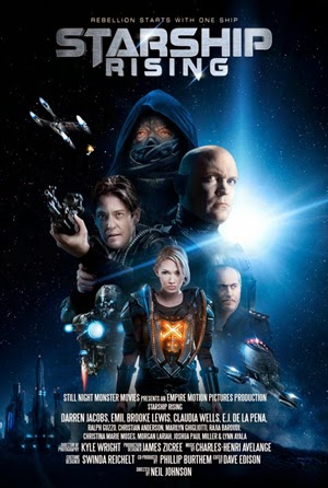 Starship: Rising 2014 poster