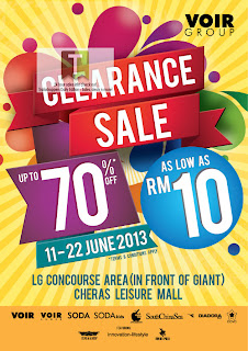 VOIR Group Clearance Sale 2013