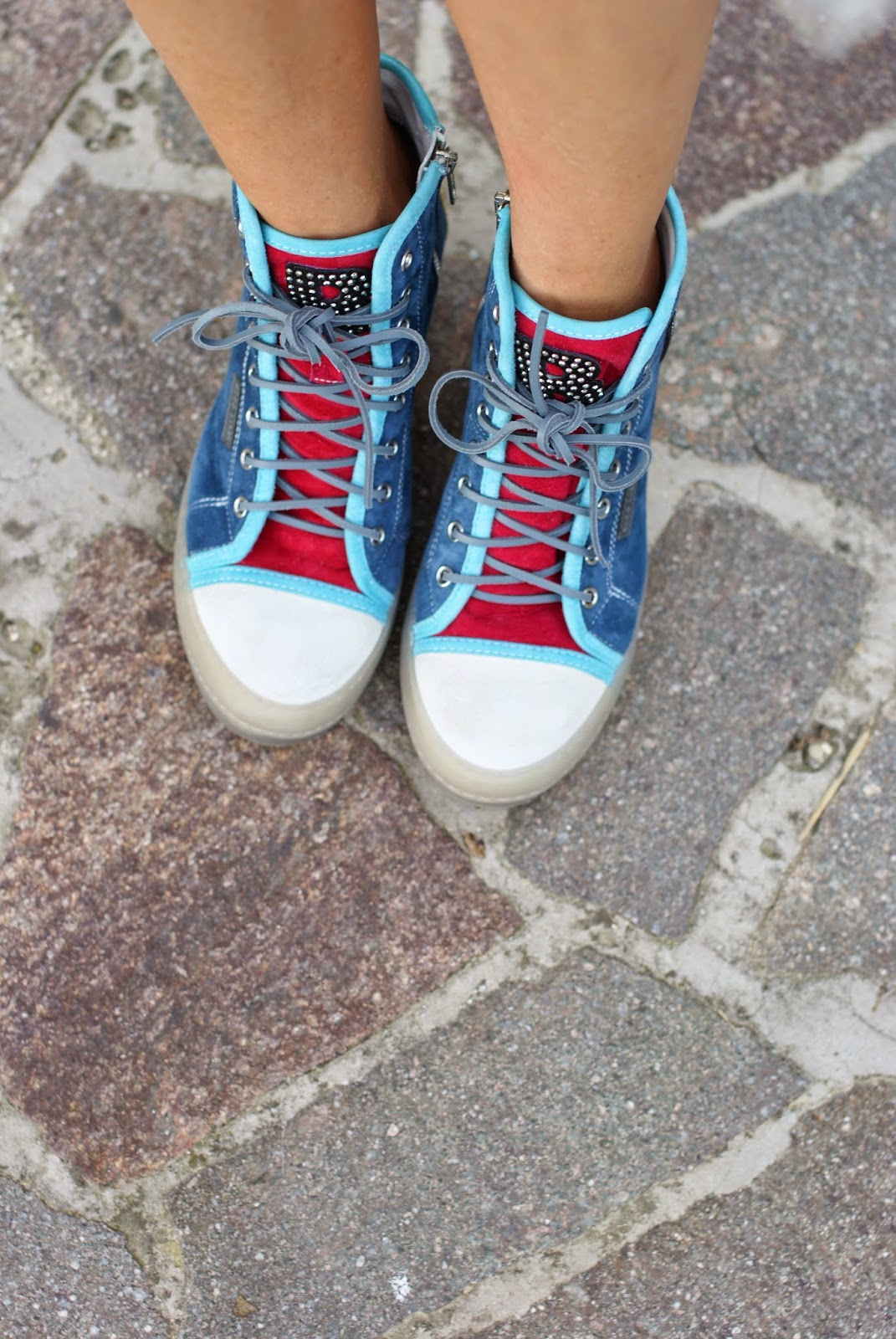 Ruco Line Nicy multicolor sneakers, Ruco Line fall winter 2014 2015, Fashion and Cookies, fashion blogger