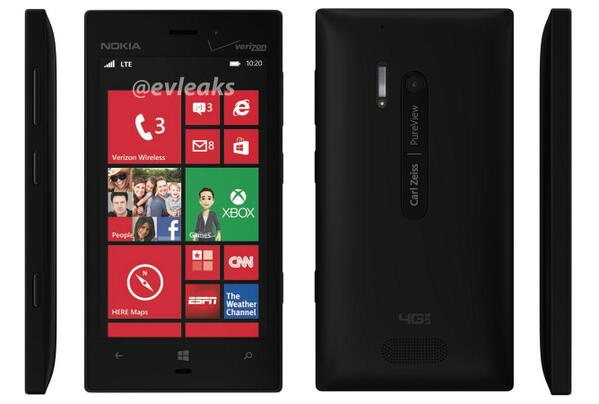 Final Render of Nokia Lumia 928 Leaked