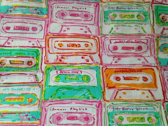 lilly pulitzer multi summer mix tape
