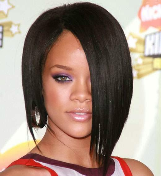 Rihanna Short Celebrity Hairstyles
