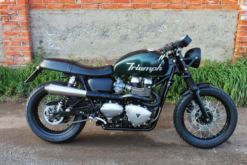 Triumph Scrambler By Dagger Cycles