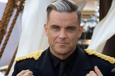 Robbie Williams CAPTAIN IN LA