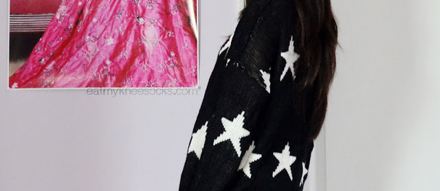 Dresslink's dupe of the Wildfox Seeing Stars Lennon sweater is very soft and comfortable.