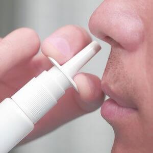 Nasal spray addiction