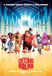 """Poster do filme """"Detona Ralph"""""""