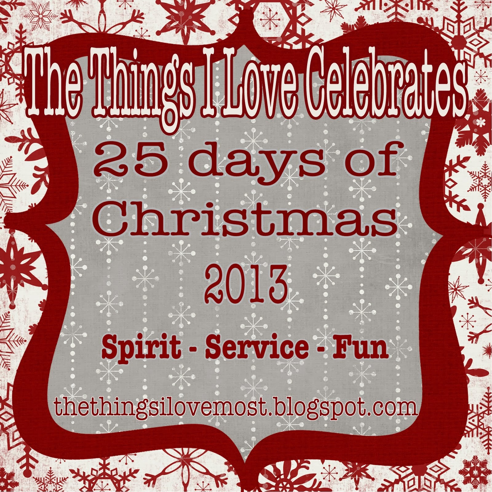 25 Days of Christmas 2013