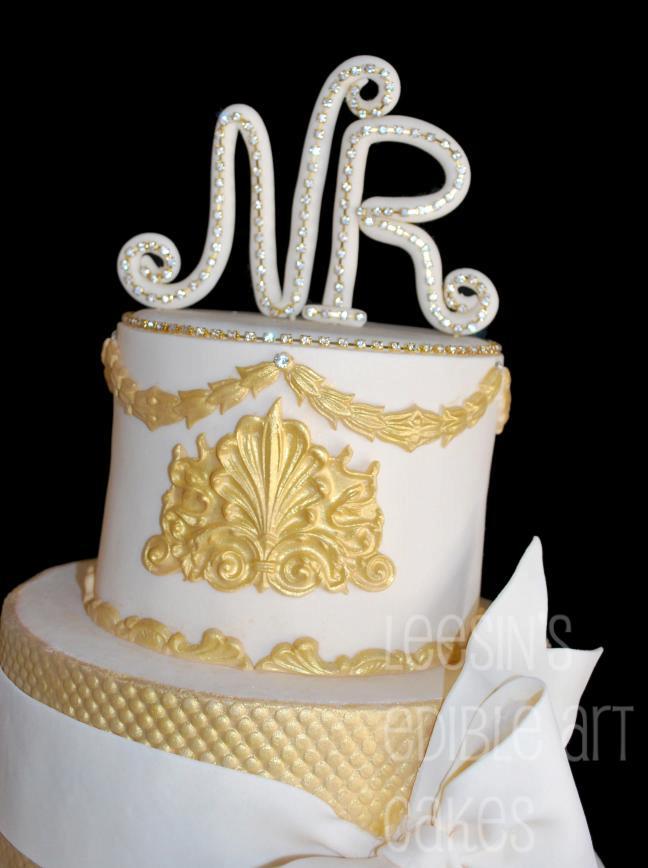 Penang Wedding Cakes by Leesin: Baroque Wedding Cakes