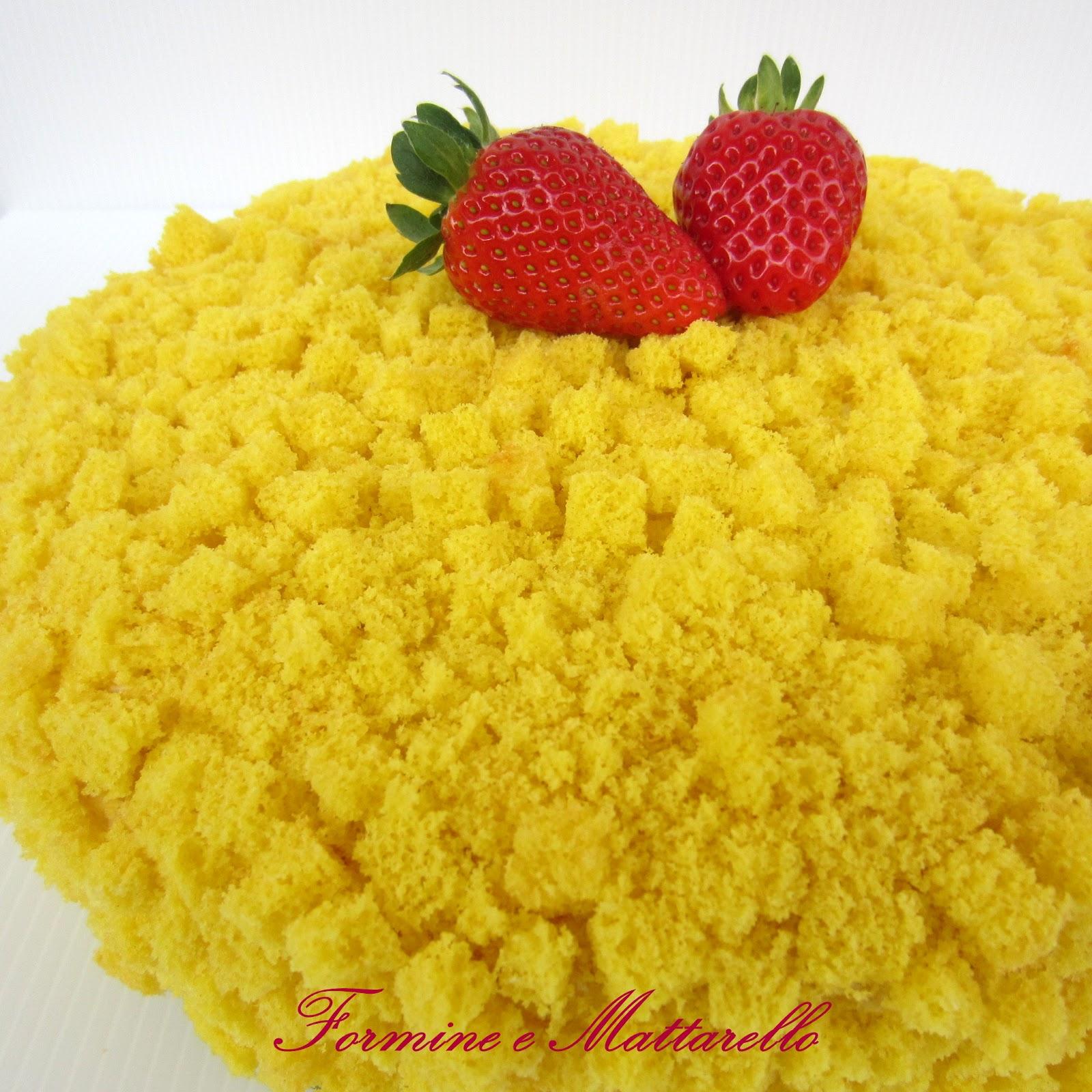 Formine e Mattarello: Torta mimosa