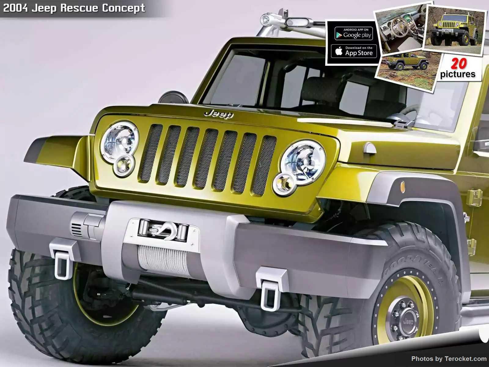 Hình ảnh xe ô tô Jeep Rescue Concept 2004 & nội ngoại thất